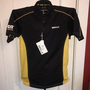 NWT Caterpillar work shirt medium size dri fit